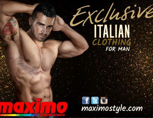 Maximo De Marco lancia lo slip 365 dall'omonimo film scandalo dell'anno!