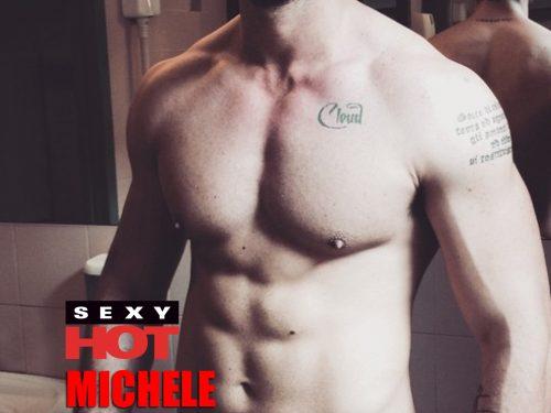 Michele Morrone in cover su SKANDAL di Luglio 2020!